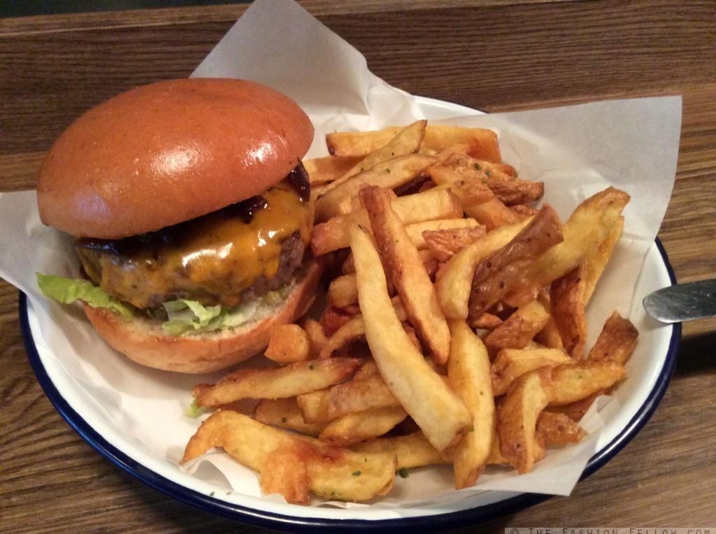 The Burger - at Honest Burgers Portobello