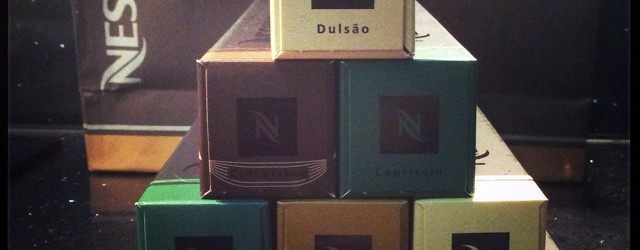 Nespresso coffee capsules - the answer to my daily coffee needs