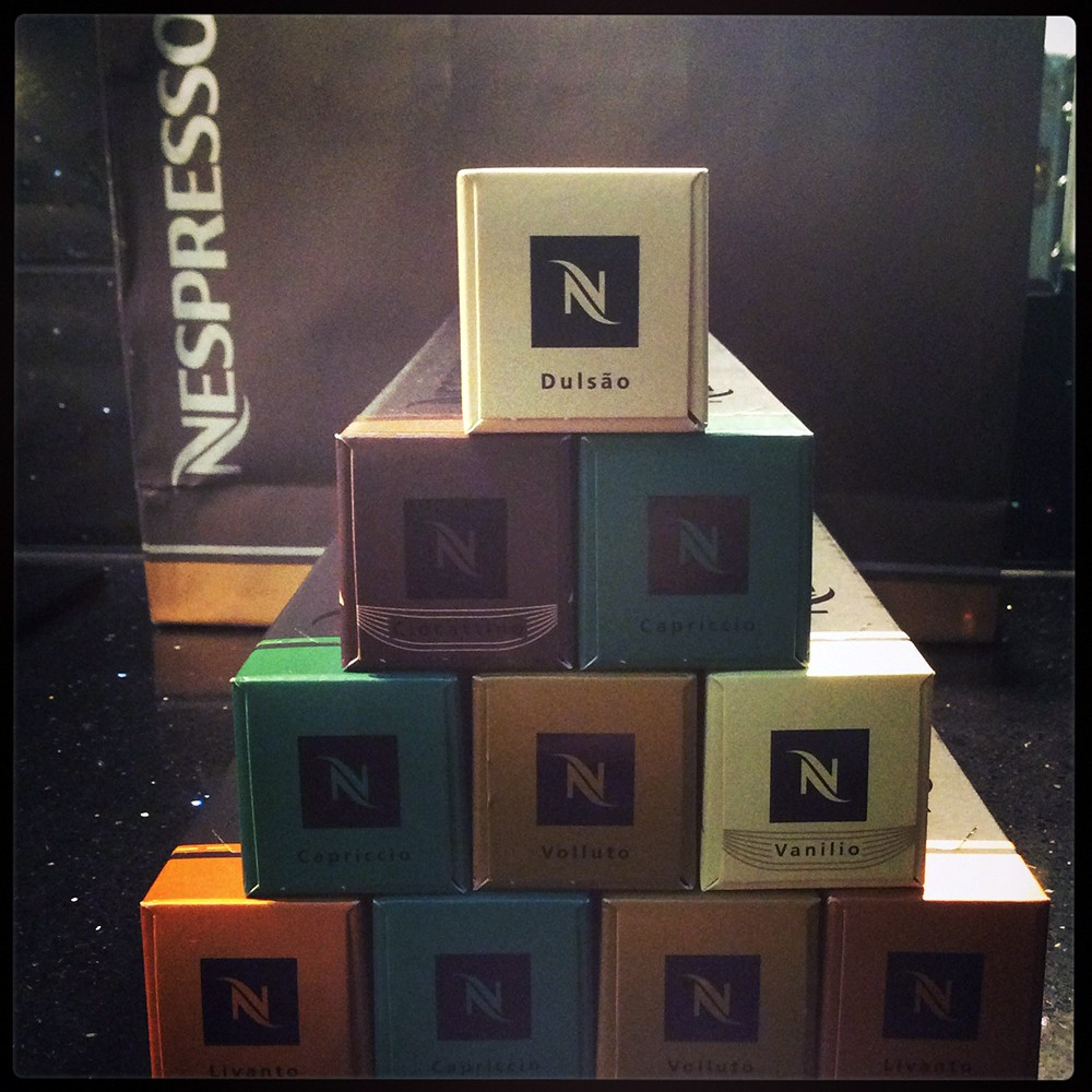 Nespresso capsules - the answer to my daily coffee needs