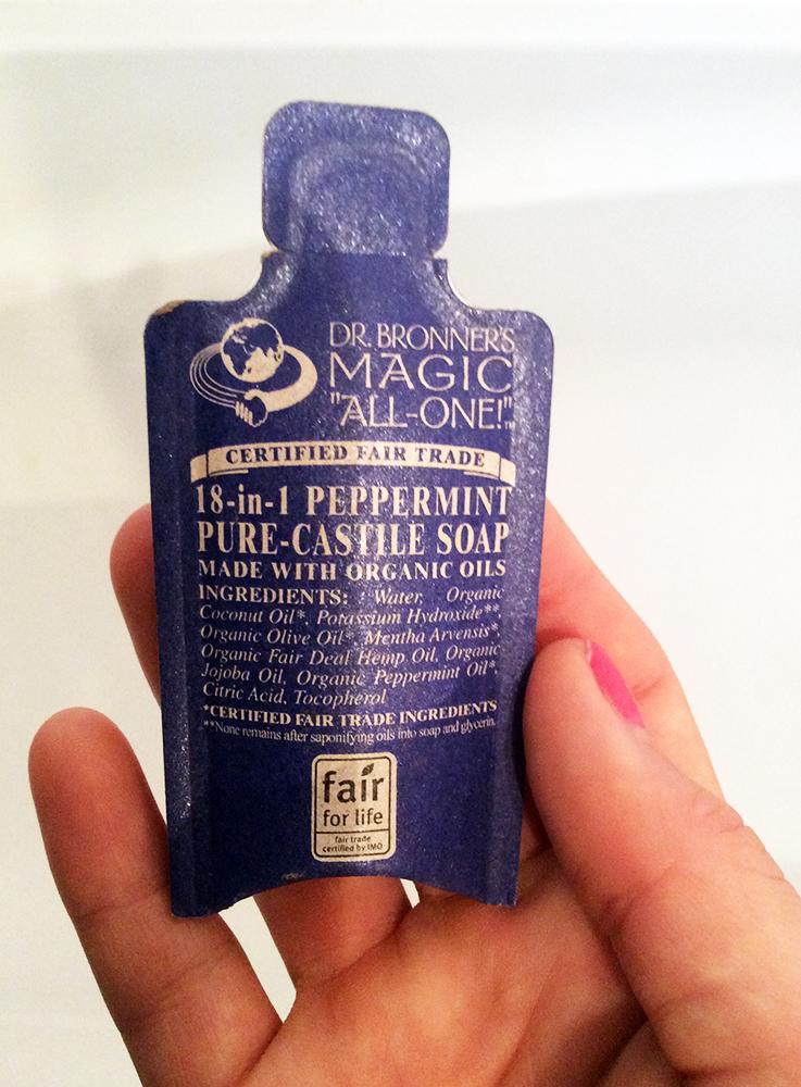Dr Bronner's Castile Liquid Soap - 18 in 1 Peppermint